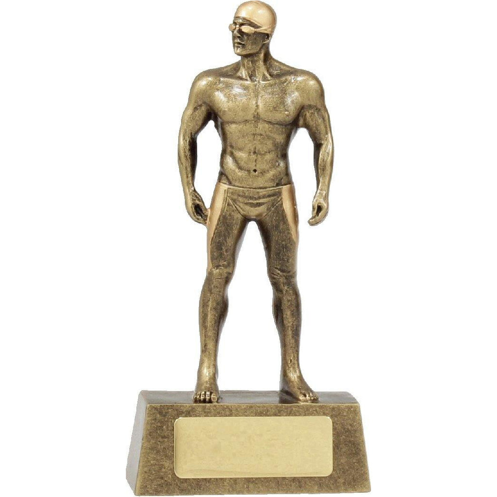 Hero Series Male Swimming Trophy