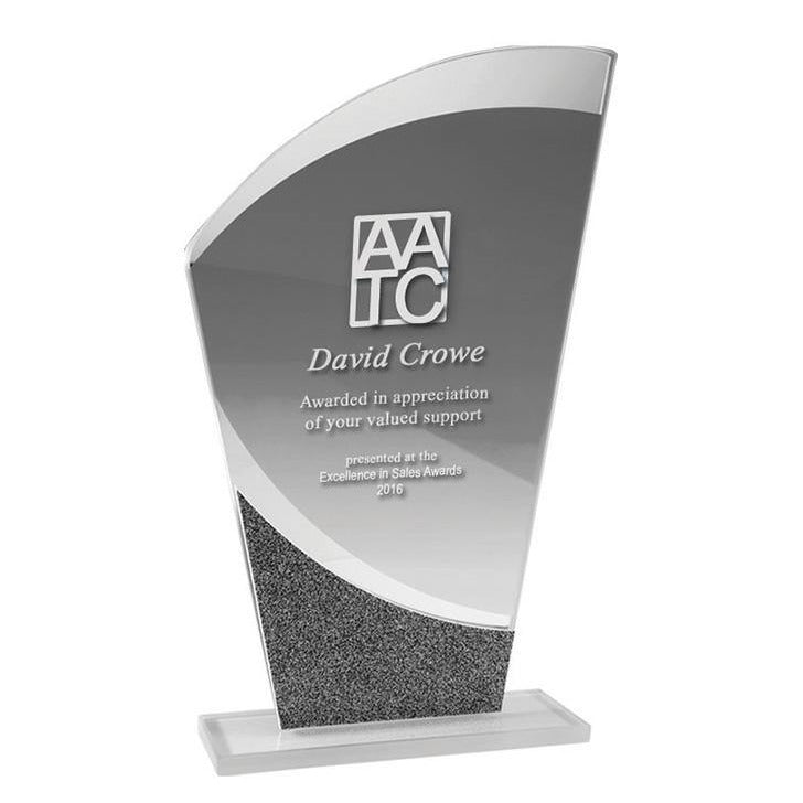 Glass Curve Trophy
