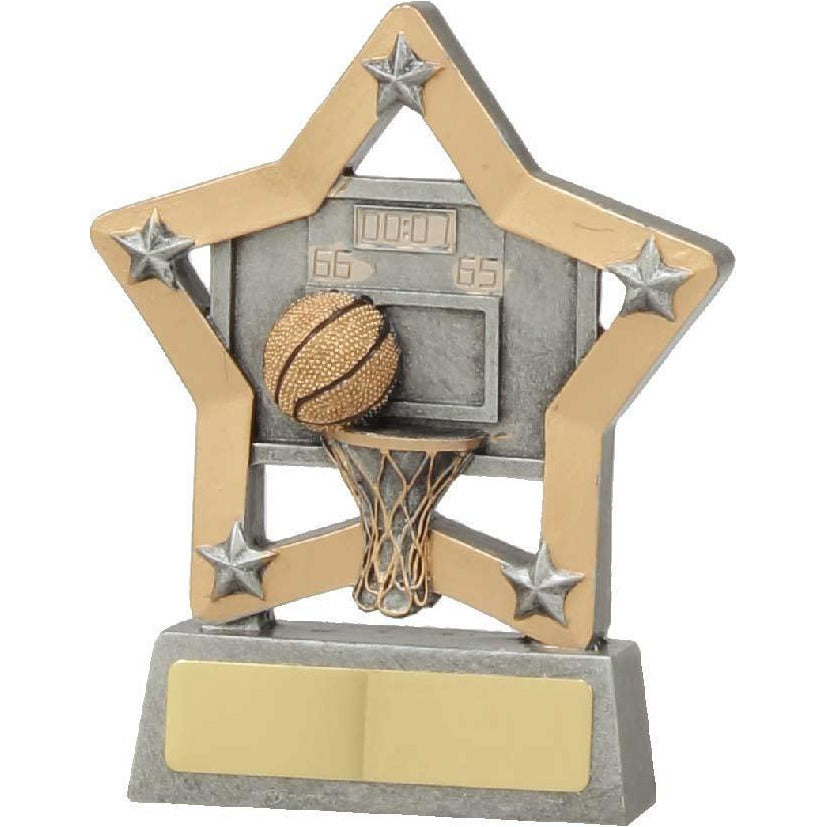Basketball Mini Star Award freeshipping - The Trophy Superstore