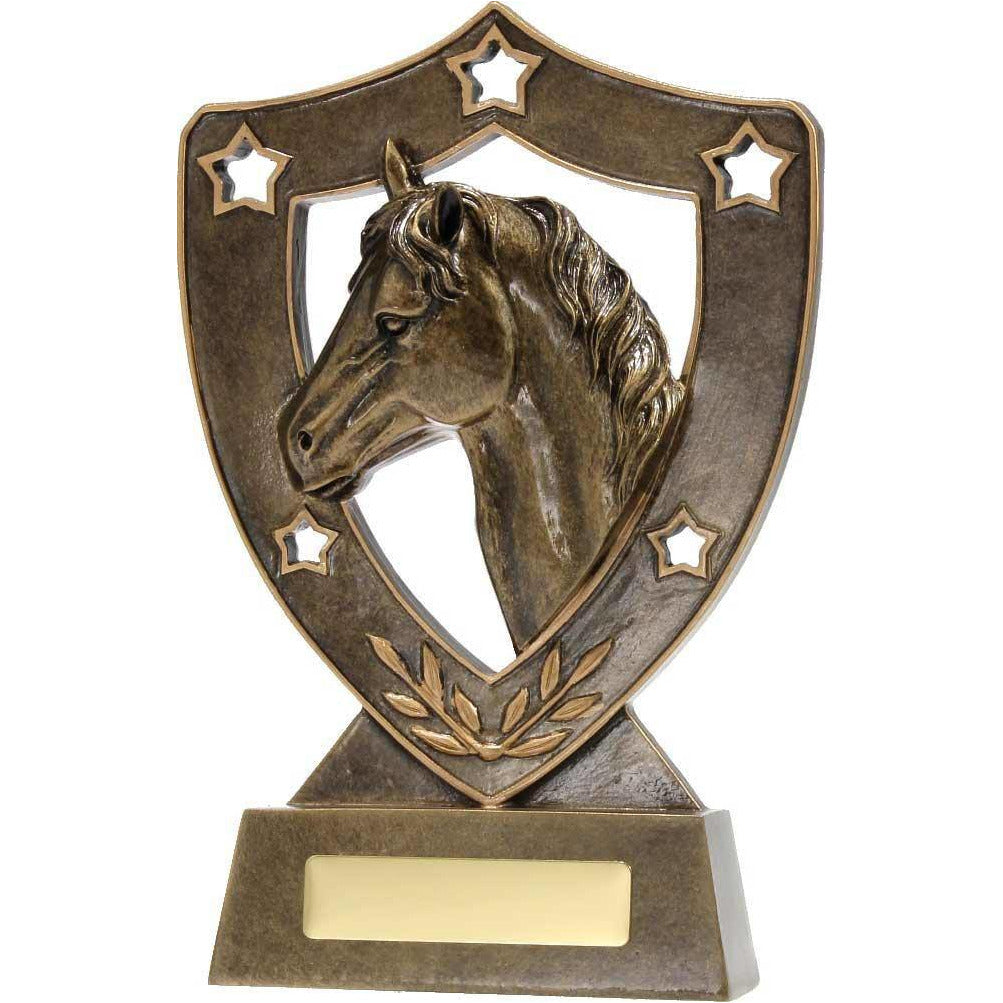 Equestrian Star Shield freeshipping - The Trophy Superstore