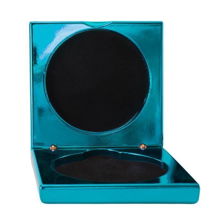 Metallic Blue Medal Cases freeshipping - The Trophy Superstore
