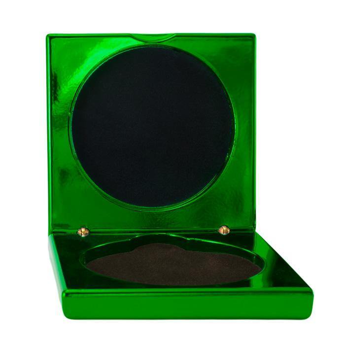 Metallic Green Medal Cases freeshipping - The Trophy Superstore