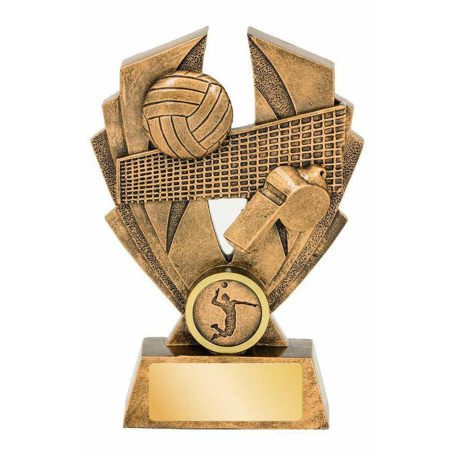 Hawk Series Volleyball Trophy available in three sizes - The Trophy Superstore