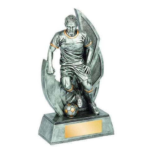 Taza Series Male Football Trophy