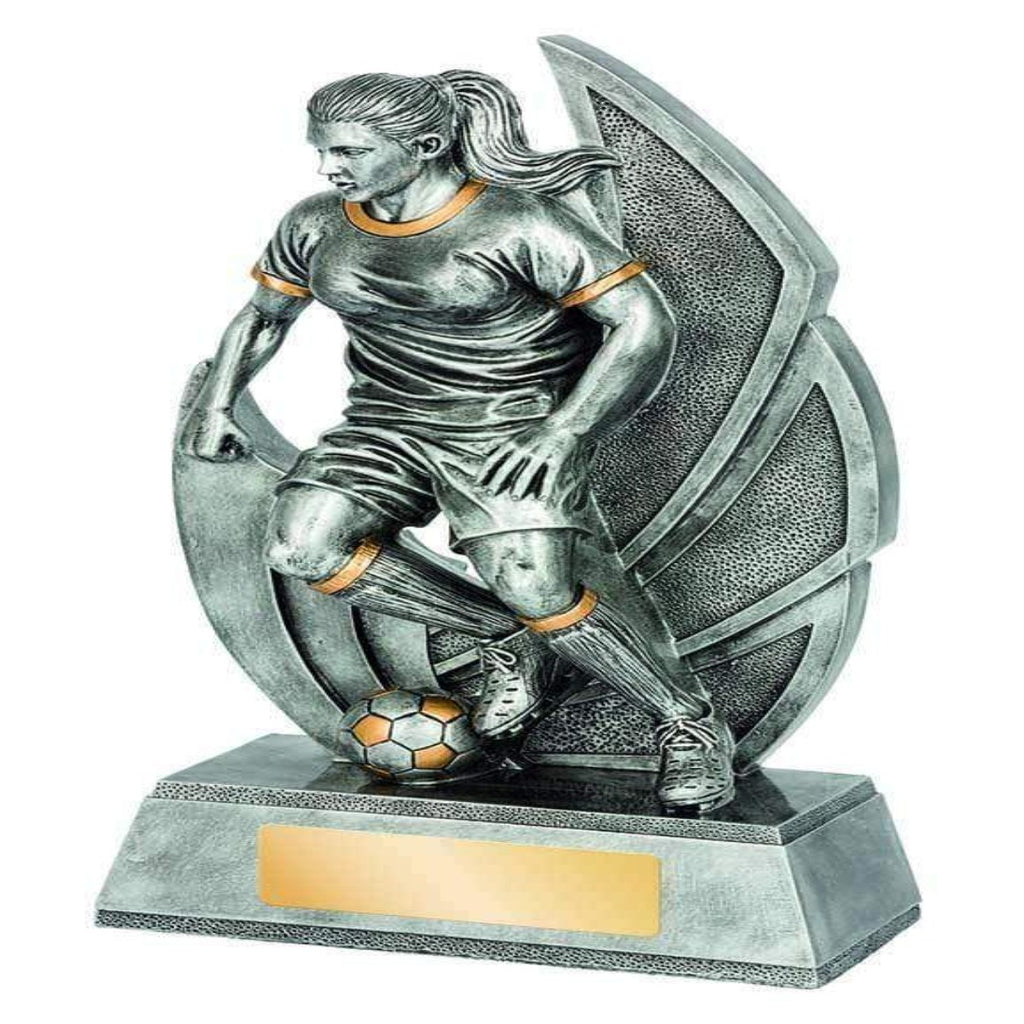 Taza Series Female Football Trophy freeshipping - The Trophy Superstore