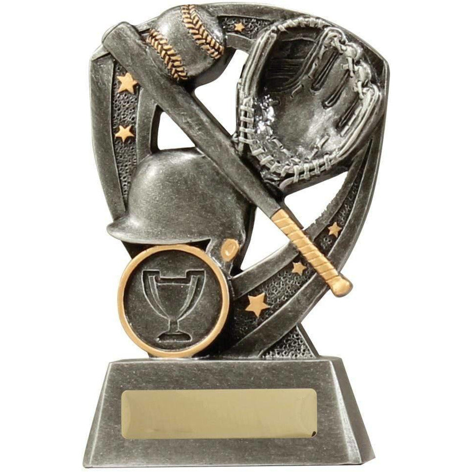 Dynamo Series Baseball Trophy available in three sizes - The Trophy Superstore