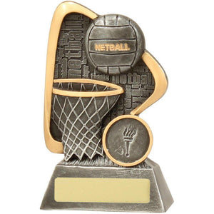 Graffiti Series Netball Trophy freeshipping - The Trophy Superstore