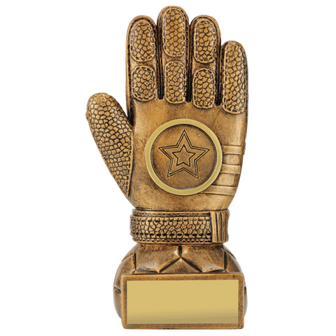Premier Goalie Glove Award freeshipping - The Trophy Superstore