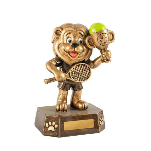 Little Lion Tennis Trophy freeshipping - The Trophy Superstore