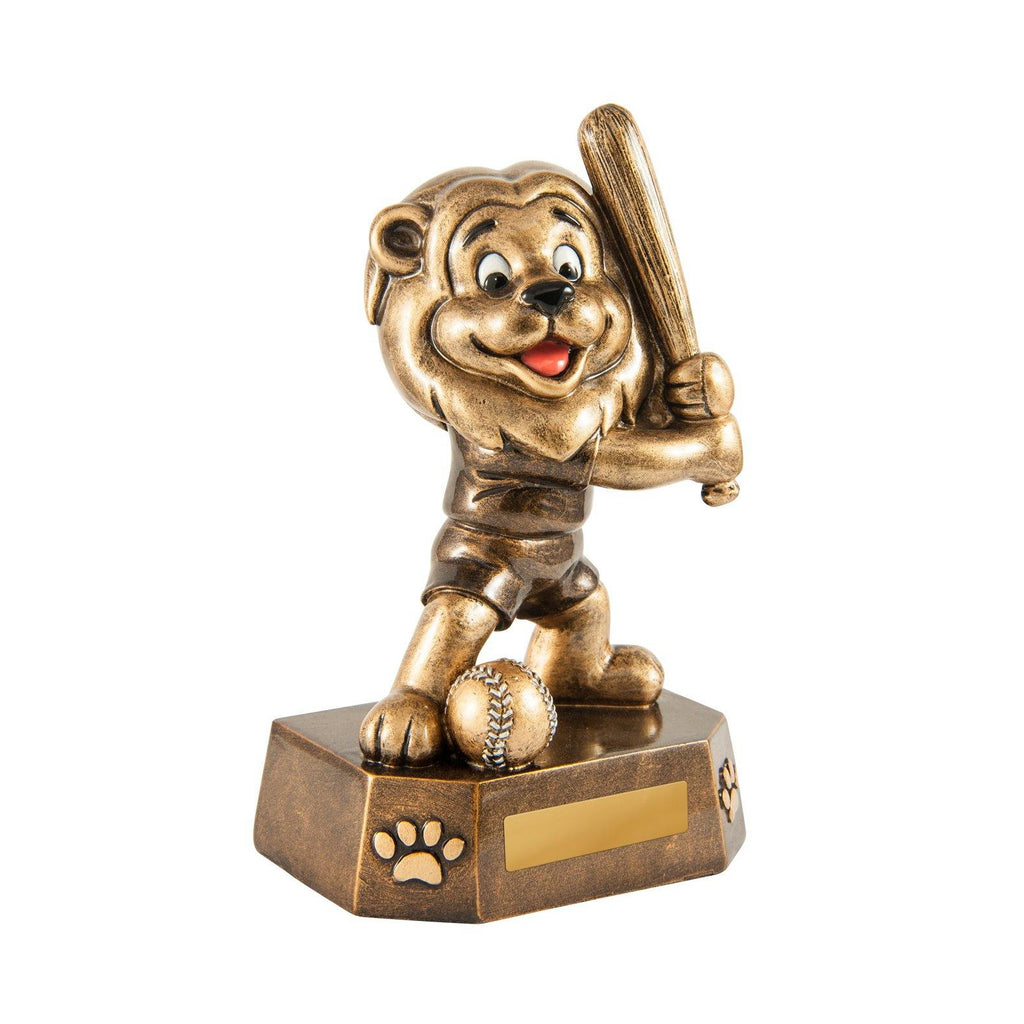 Little Lion Baseball Trophy