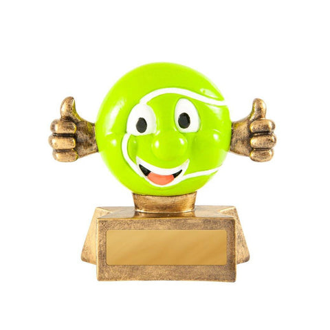 Smiling Tennis Trophy freeshipping - The Trophy Superstore
