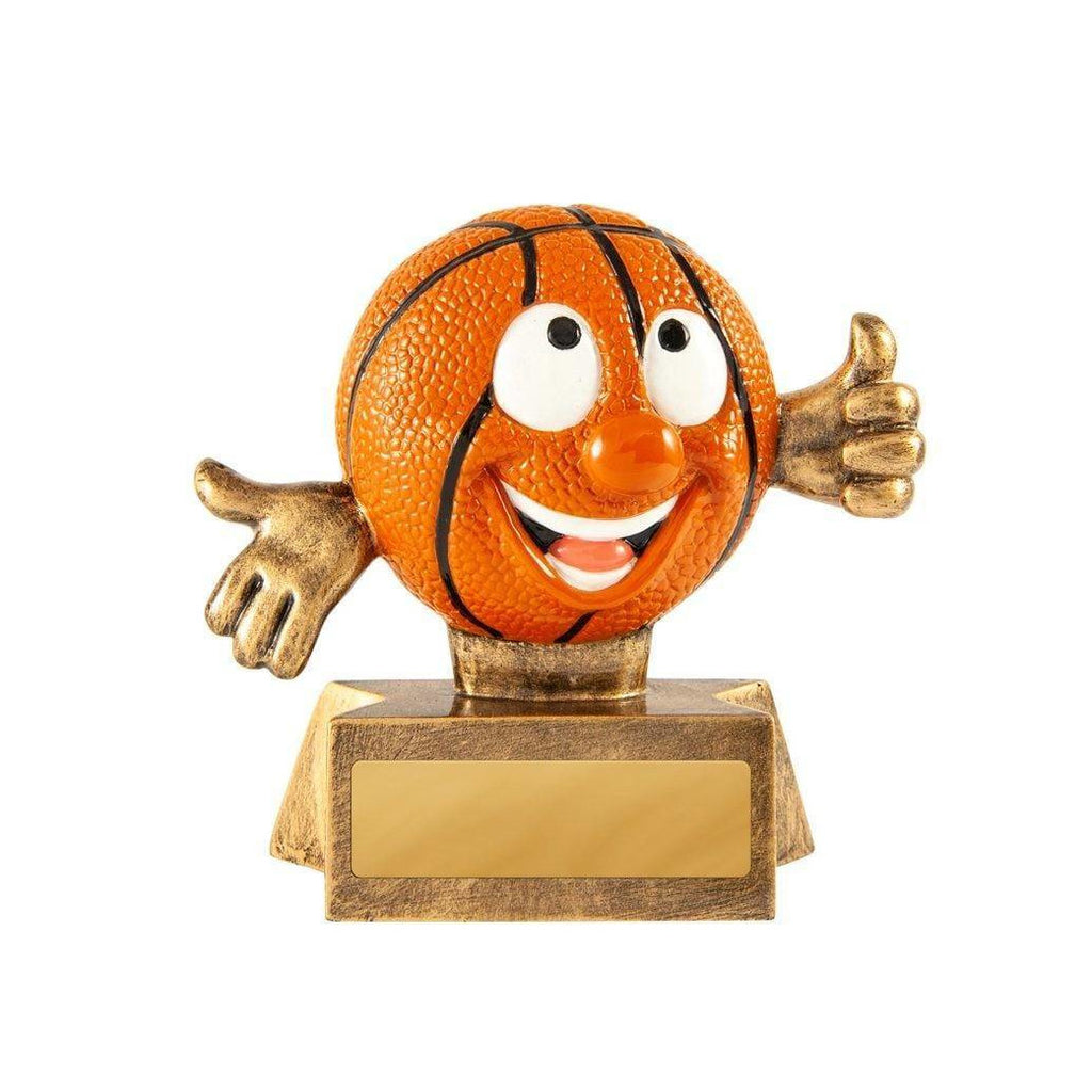 Smiling Basketball Trophy
