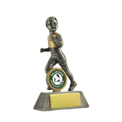 Little Champs Athletics Trophy - Female freeshipping - The Trophy Superstore