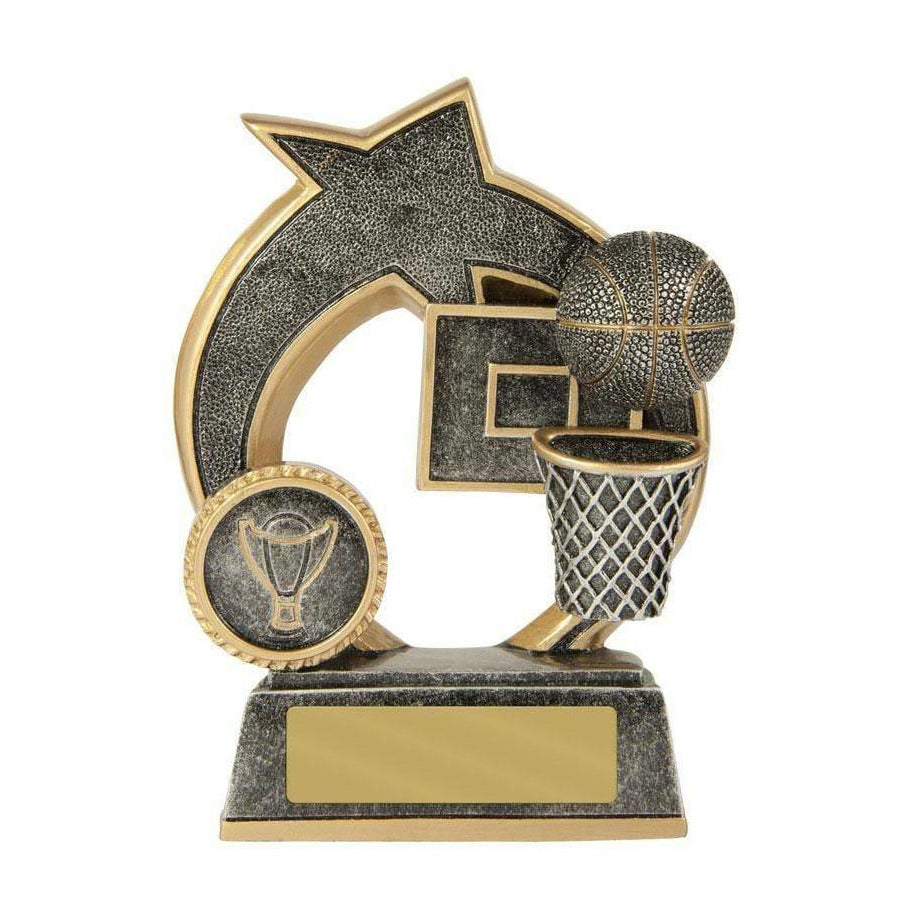 Swoosh Series Basketball Trophy