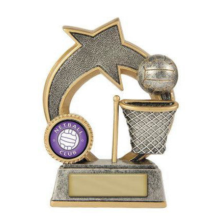 Swoosh Series Netball Trophy - 609-8A - The Trophy Superstore