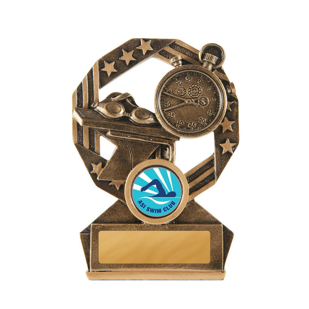 Bronzed Aussie Swimming - 120mm - The Trophy Superstore