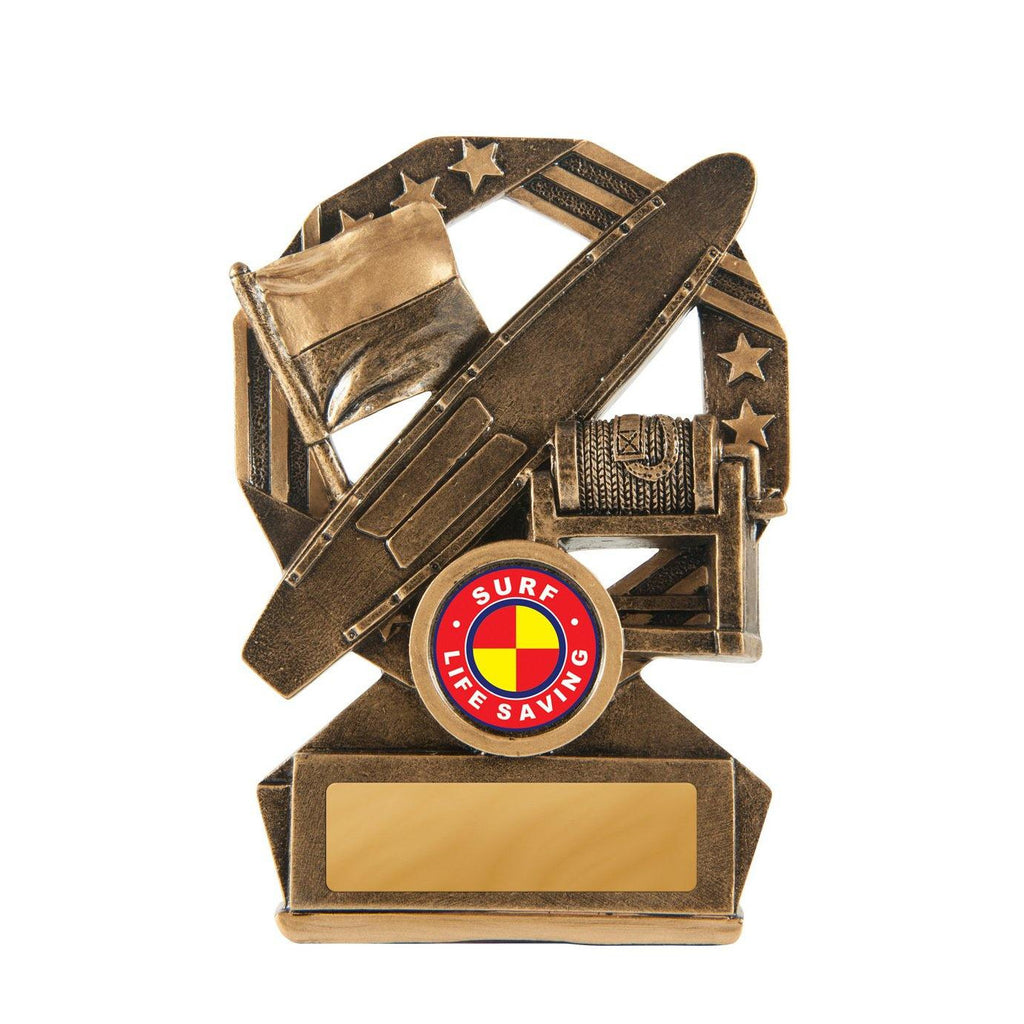 Bronzed Aussie Lifesaving - 120mm - The Trophy Superstore