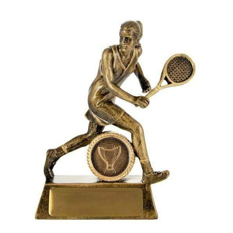All Action Hero Female Tennis Trophy freeshipping - The Trophy Superstore
