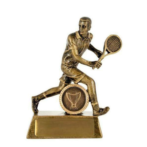 All Action Hero Male Tennis Trophy freeshipping - The Trophy Superstore