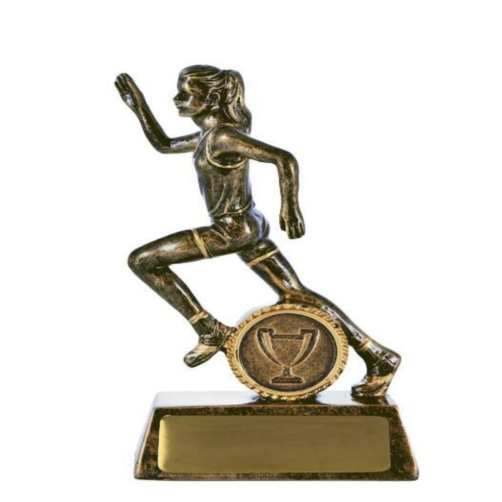 All Action Hero Female Athletics Trophy