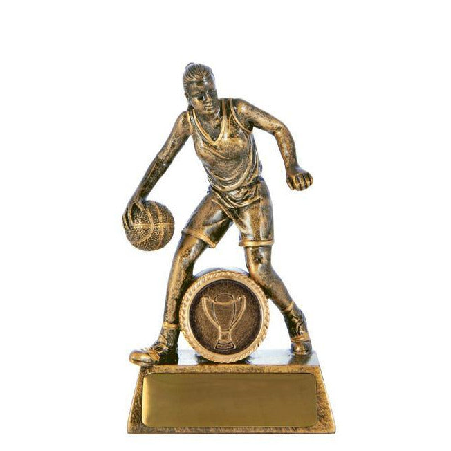 All Action Hero Female Basketball Trophy