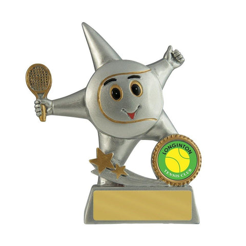 Little Tennis Star Award freeshipping - The Trophy Superstore