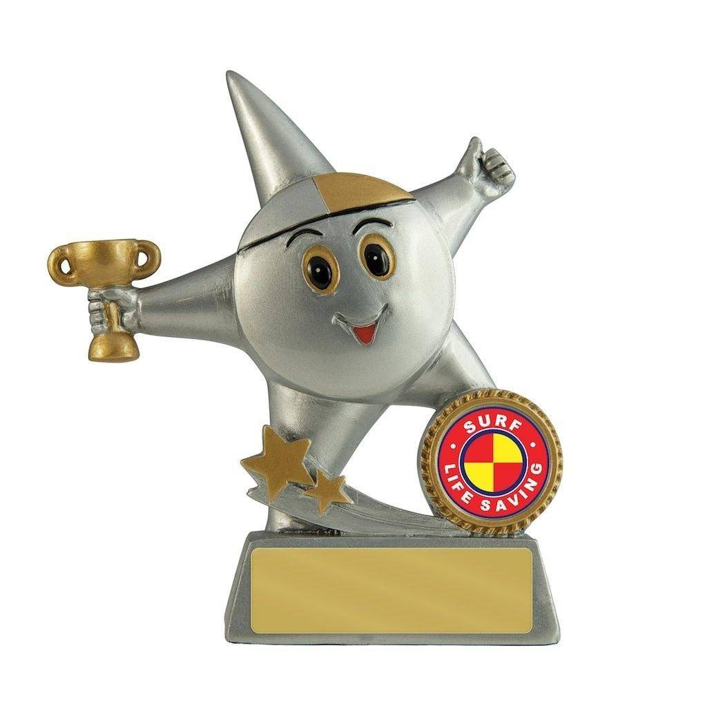 Little Surf Lifesaving Star - 130mm - The Trophy Superstore