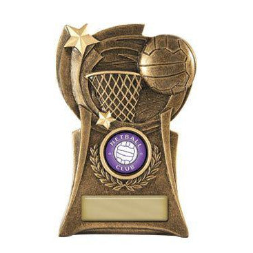 Phoenix Series Netball Trophy freeshipping - The Trophy Superstore
