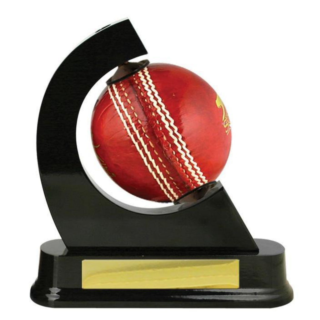 Black Timber Cricket Ball Holder freeshipping - The Trophy Superstore