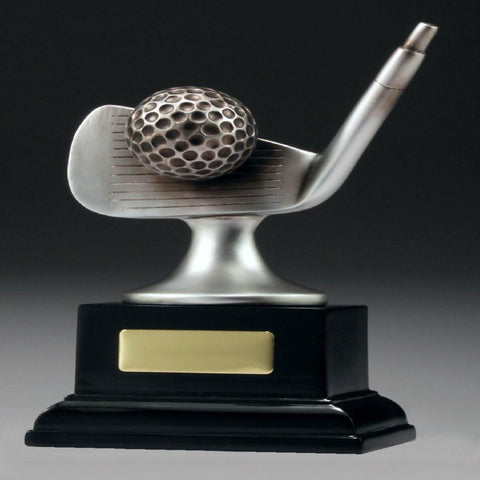 Golf Silver Iron Trophy freeshipping - The Trophy Superstore