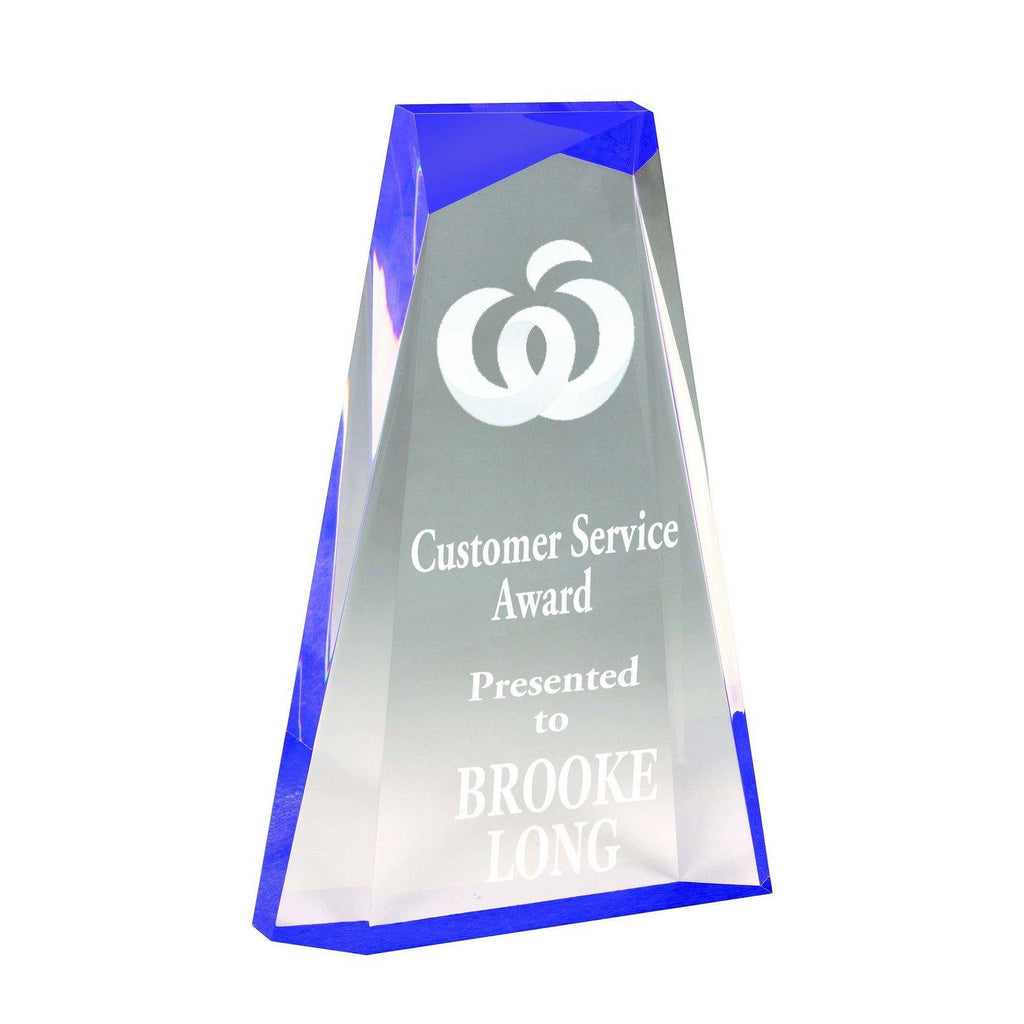Ascend Purple Acrylic Award freeshipping - The Trophy Superstore