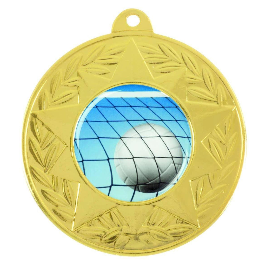 Gold Generic Medallion -50mm Pattern 2 - The Trophy Superstore