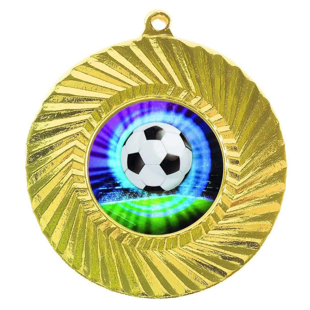 Gold Generic Medallion -50mm Pattern 11 - The Trophy Superstore