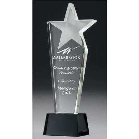 Midnight Star Crystal Award - The Trophy Superstore