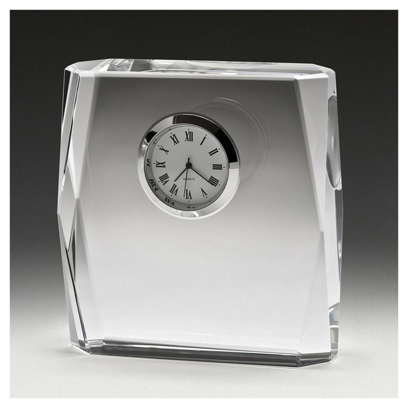 Piazza Crystal Clock - The Trophy Superstore
