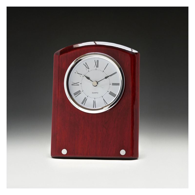 Voyage Timber Clock - The Trophy Superstore