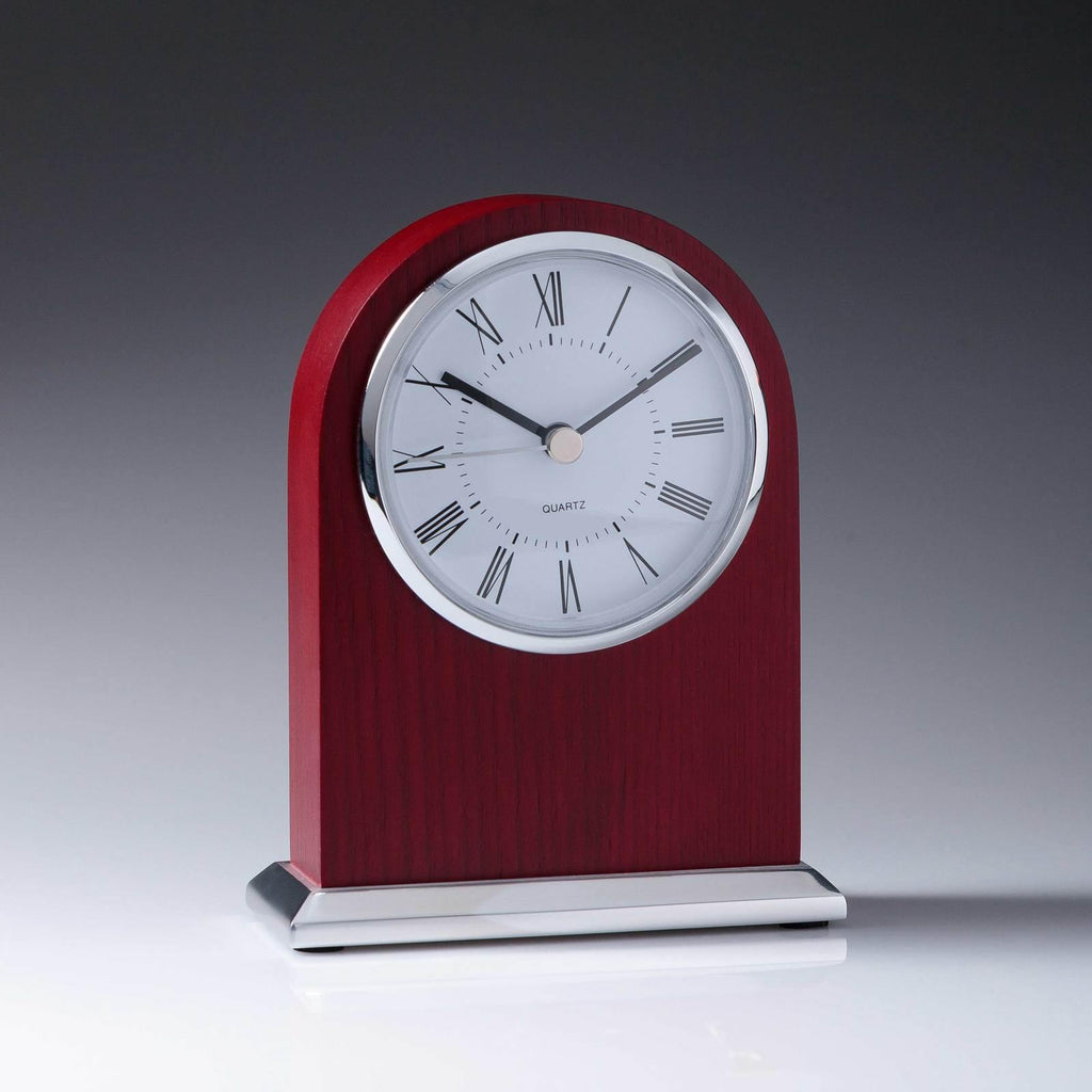 Woodcraft Arch Clock - The Trophy Superstore