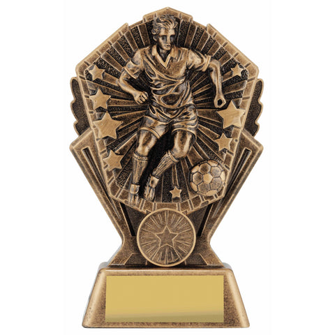 Cosmos Male Football Trophy freeshipping - The Trophy Superstore