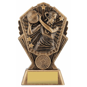 Cosmos Netball Series Trophy freeshipping - The Trophy Superstore