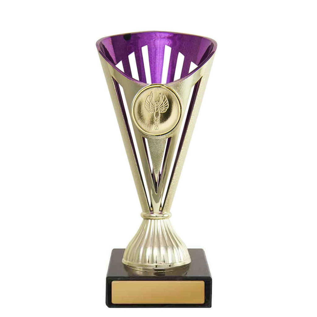 Purple/Gold Fan Budget Cup