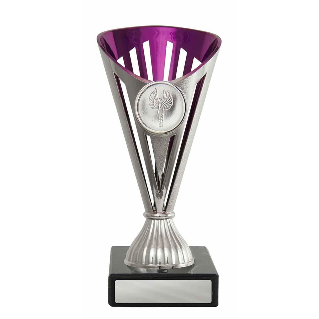 Pink/Silver Fan Budget Cup
