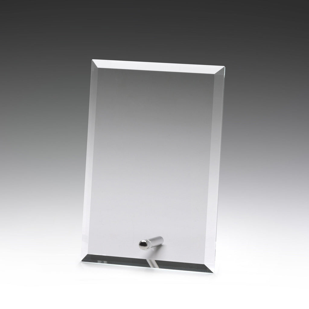 Prime Glass Clear Plaque - 150mm - The Trophy Superstore