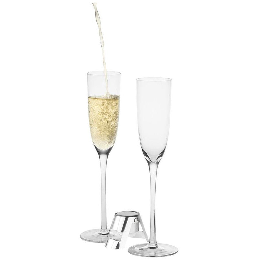 Two champagne glasses - E1429 - The Trophy Superstore