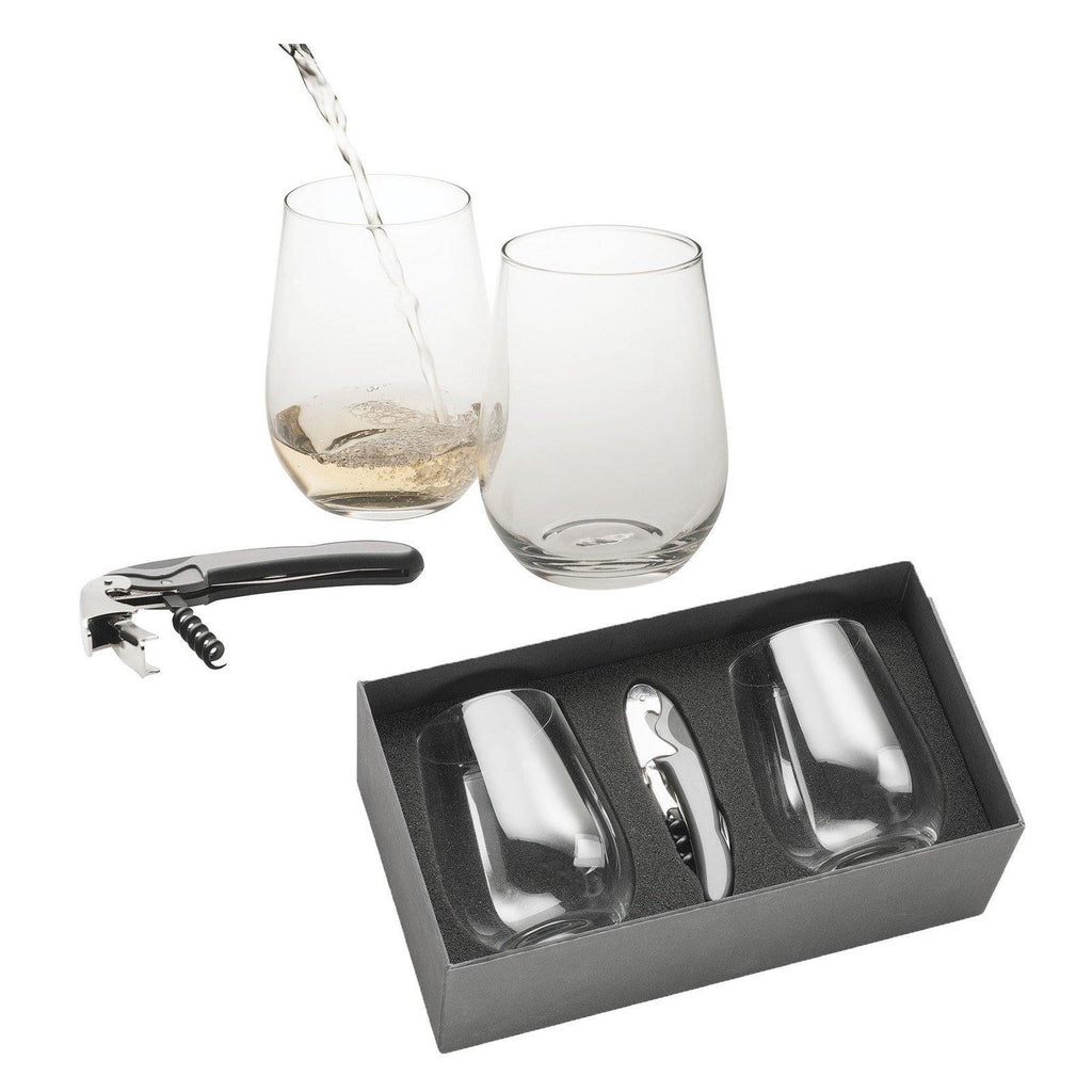 Stemless Wine Glass Set - The Trophy Superstore