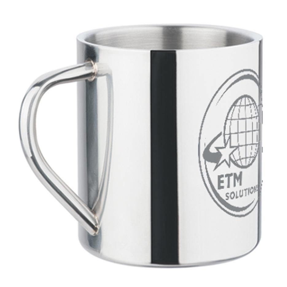 Stainless Steel Mug - 450ml - The Trophy Superstore