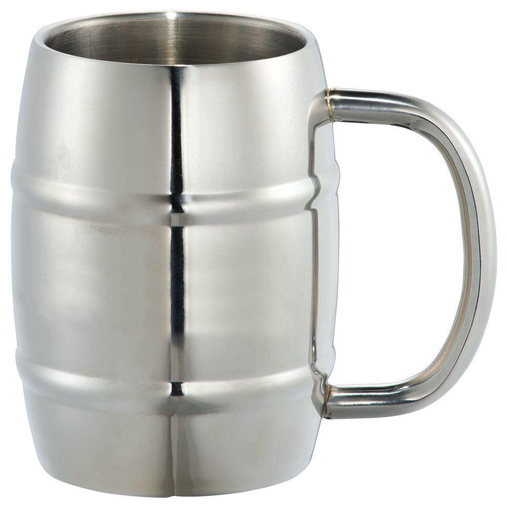 Stainless Steel Barrel Mug - 415mm - The Trophy Superstore