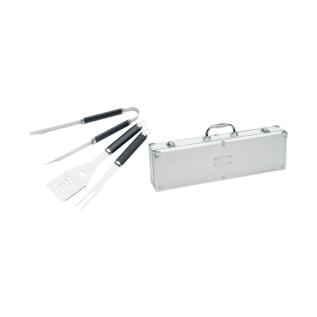 Stainless Steel BBQ set - The Trophy Superstore