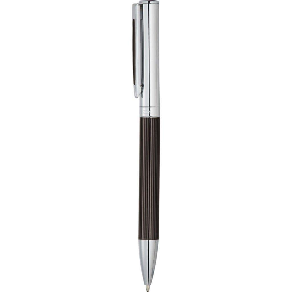 Luxe Portsmouth Ballpoint Pen in Gift Box - Black - The Trophy Superstore