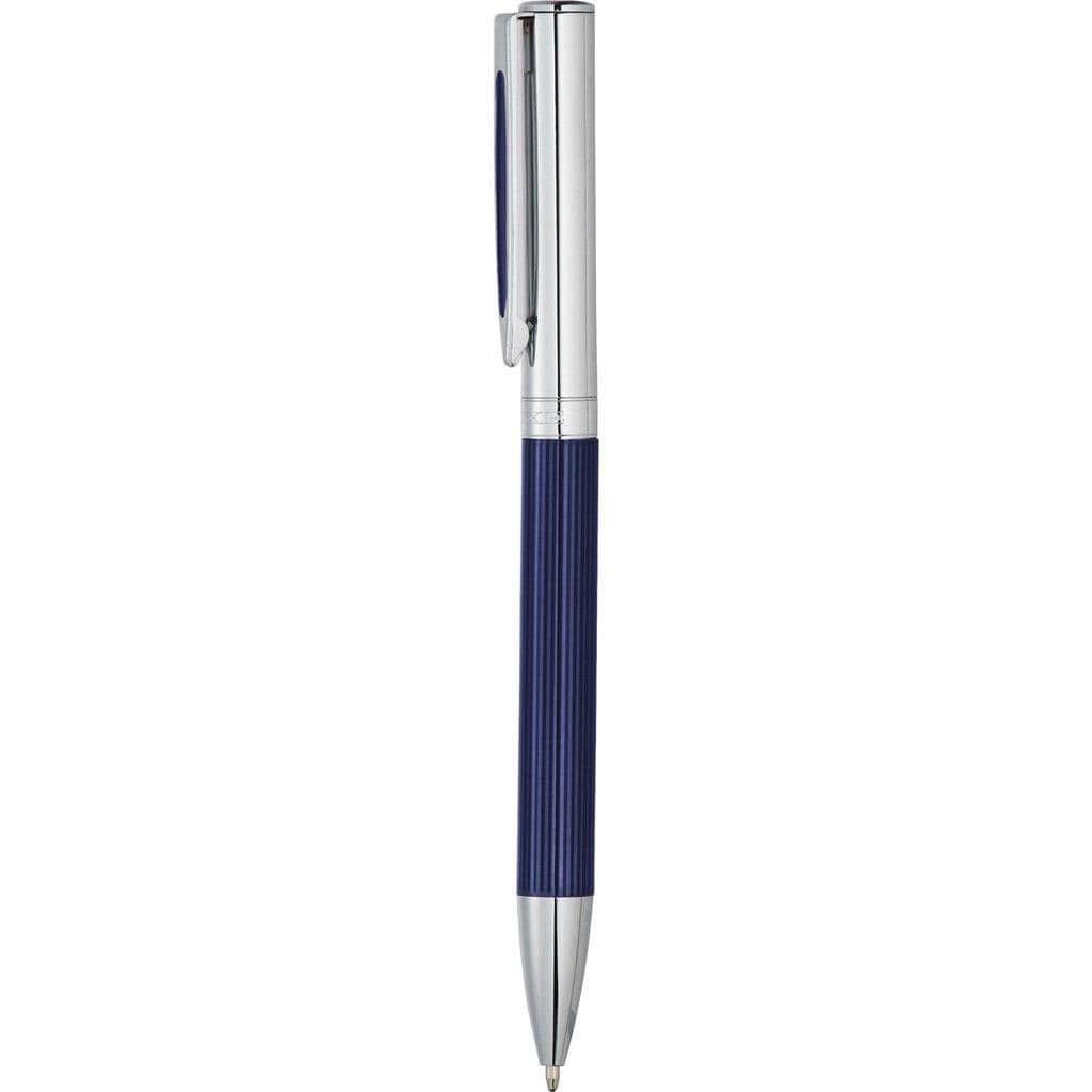 Luxe Portsmouth Ballpoint Pen in Gift Box - Blue - The Trophy Superstore