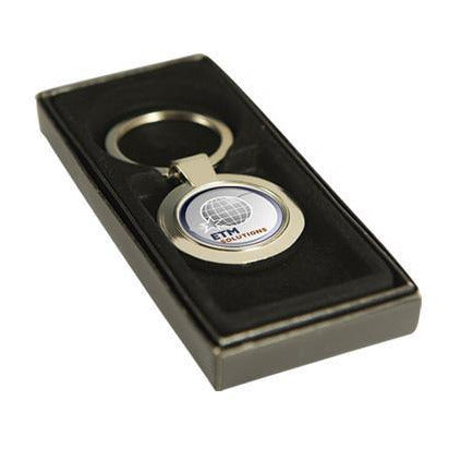 Round Sublimation Keyring - The Trophy Superstore